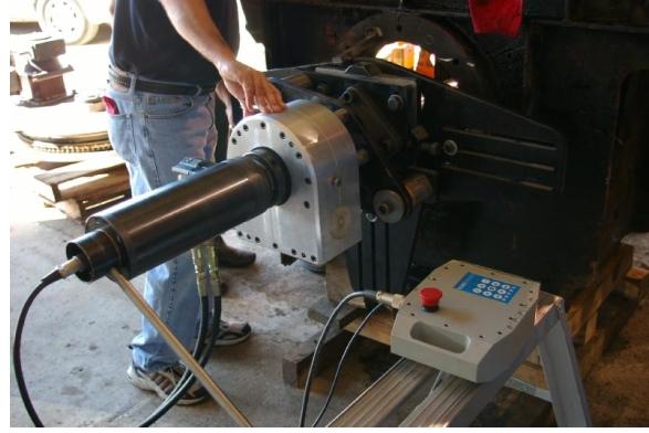 ремонт крупногабаритных узлов, механизмов прокатных станов, мощных гидравлических прессов, наплавка