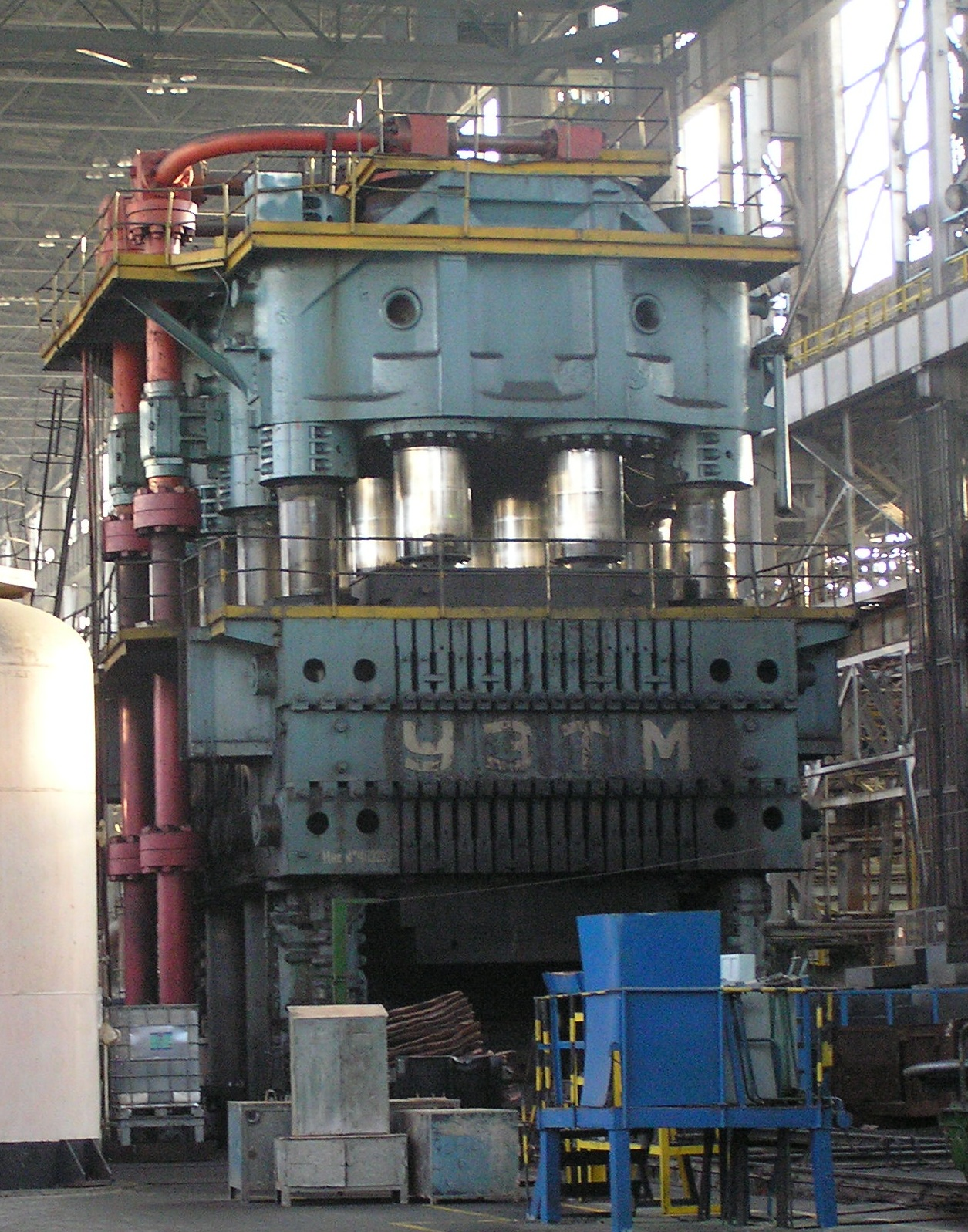 Гидравлический штамповочный пресс силой 300 МН (УЗТМ)
